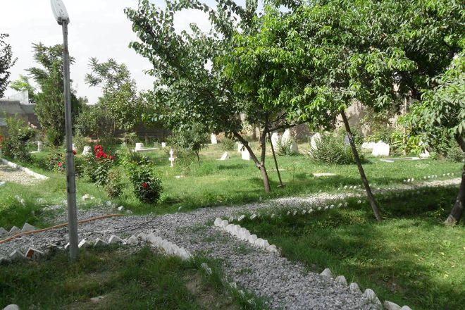 Christian Cemetery, Kabul, Afghanistan