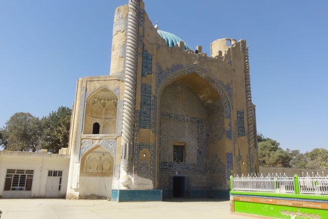 Green Mosque, Balkh, Afghanistan