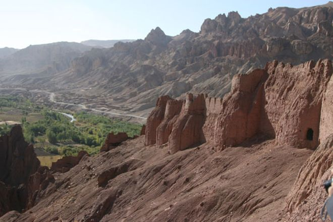 Shahr-e-Zahak (Red City), Bamyan, Afghanistan