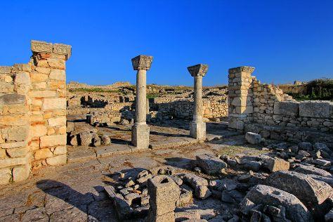 Byllis Archaeological Park, Fier County, Albania