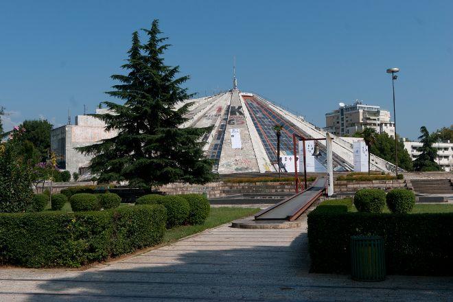 Enver Hoxha Pyramid, Tirana, Albania