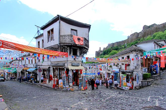 Gjirokastra Bazaar, Gjirokaster, Albania