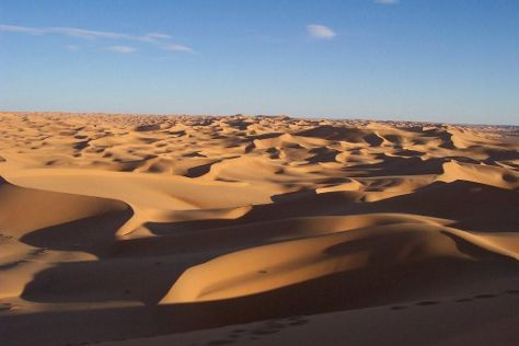 Algerian Sahara, Illizi, Algeria