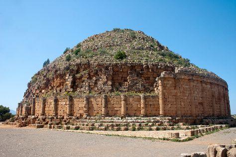 Tombeau de la Chretienne, Tipasa, Algeria