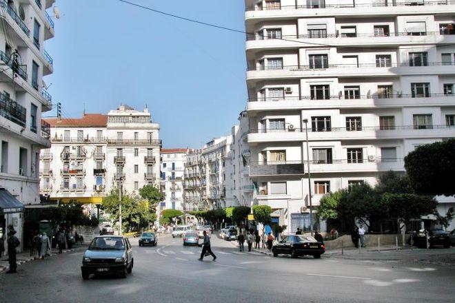 La Rue Didouche Mourad, Algiers, Algeria