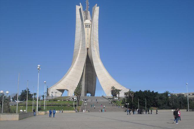 Memorial du Martyr, Algiers, Algeria