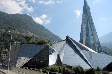 Centre Termolúdic Caldea, Escaldes-Engordany, Andorra