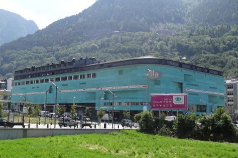 Illa Carlemany Shopping Center, Escaldes-Engordany, Andorra
