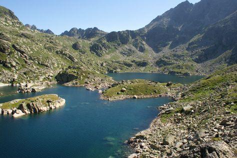 Juclar Lake, Soldeu, Andorra