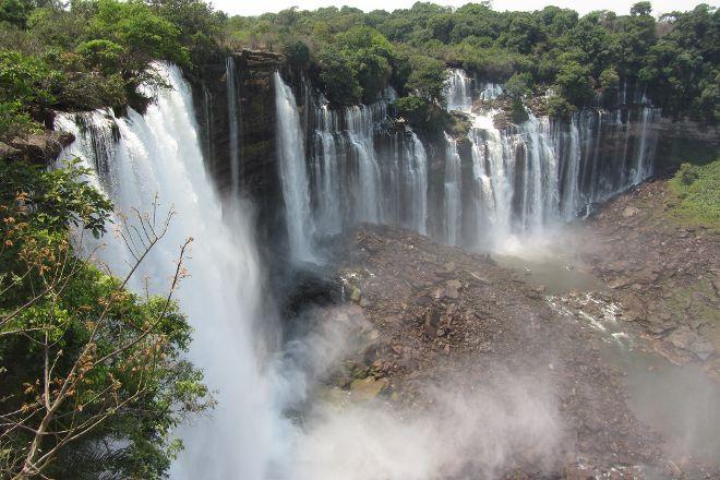 Kalandula Falls, Kalandula, Angola