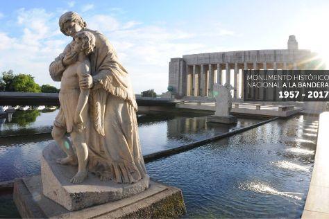 Monumento Historico Nacional a la Bandera, Rosario, Argentina