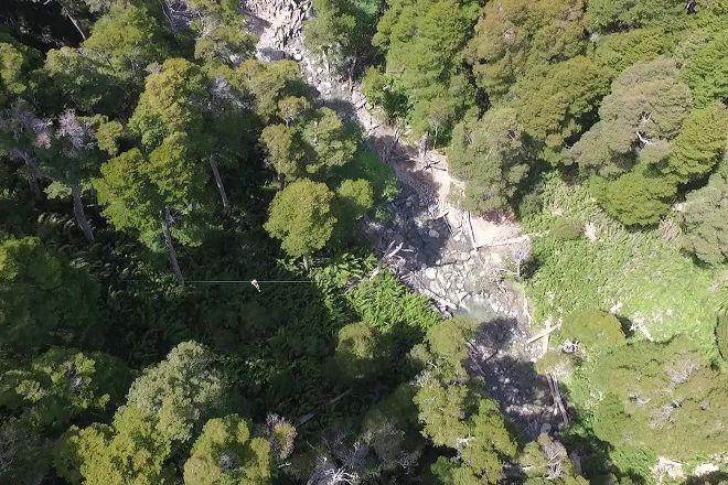 Canopy Cerro Bayo Rio Bonito, Villa La Angostura, Argentina