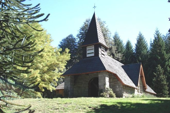 Capilla Virgen Nina, Villa La Angostura, Argentina