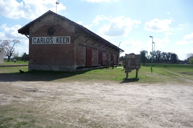 Carlos Keen, Carlos Keen, Argentina