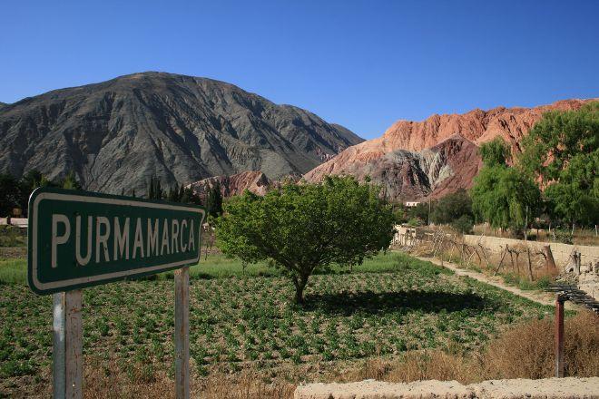 Cerro Morado, Purmamarca, Argentina