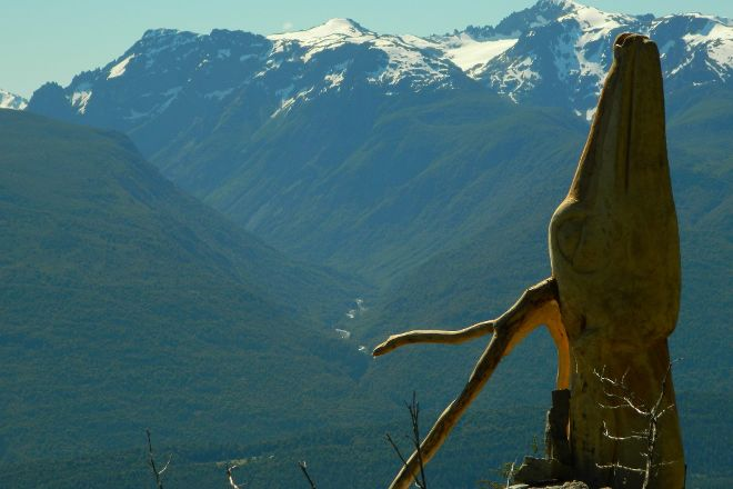 El Bosque Tallado Museo a Cielo Abierto, El Bolson, Argentina