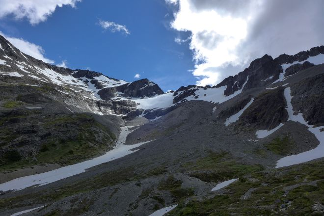 Glacier Martial, Ushuaia, Argentina