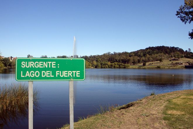 Lago y Dique del Fuerte, Tandil, Argentina