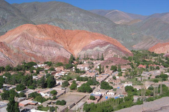 Mirador Geologico, Purmamarca, Argentina