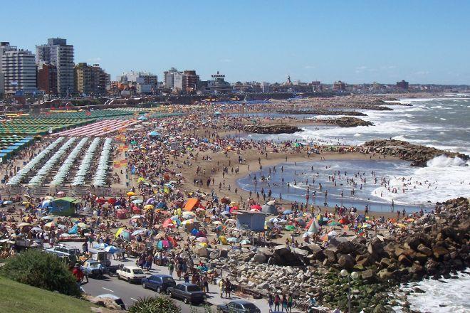 Playa Grande, Mar del Plata, Argentina