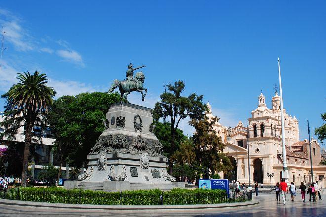 Plaza San Martin, Cordoba, Argentina