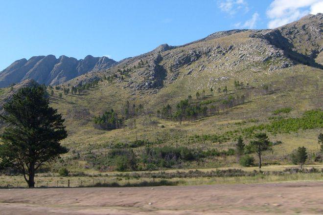 Punto Panoramico Del Mirador Del Cerro Ventana, Sierra De la Ventana, Argentina