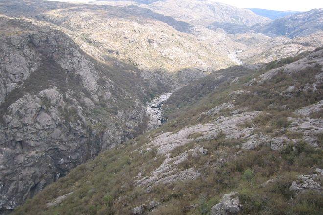 Quebrada del Rio Condorito (Condorito River's Gorge), Province of Cordoba, Argentina
