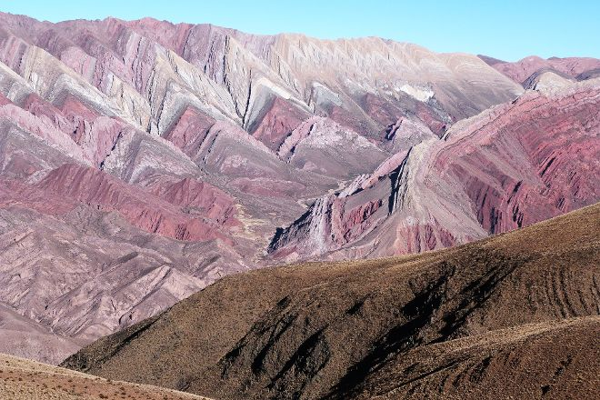 Serranía de Hornocal, Humahuaca, Argentina