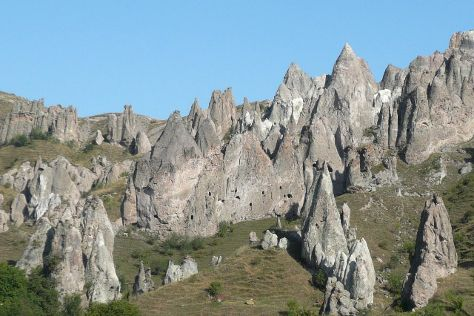 Goris Rock Forest, Goris, Armenia
