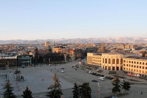 Gyumri Main Square, Gyumri, Armenia