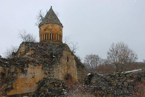Khorakert Monastery, Lori Province, Armenia