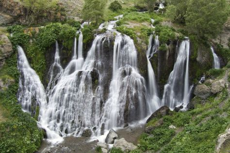 Shaki Waterfall, Sisian, Armenia