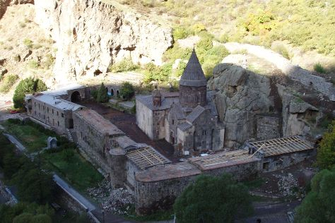 The Monastery of Geghard, Geghard, Armenia