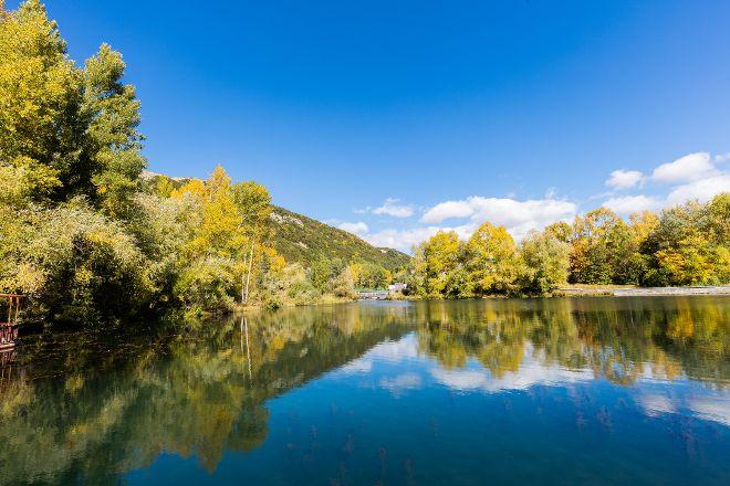 Arpa River, Jermuk, Armenia