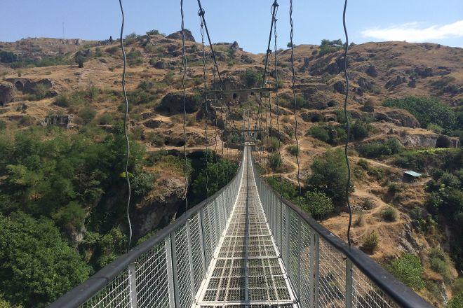 Khndzoresk Swinging Bridge, Yerevan, Armenia