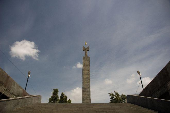Monument to 50 Years of Soviet Armenia, Yerevan, Armenia