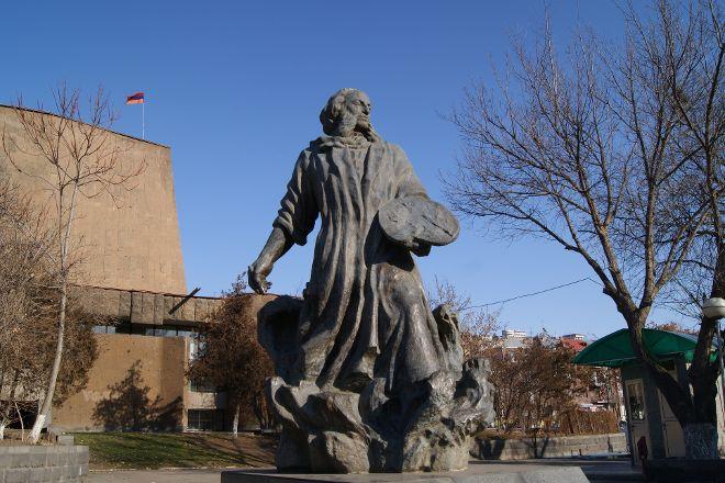 Monument to Ivan Aivazovsky, Yerevan, Armenia