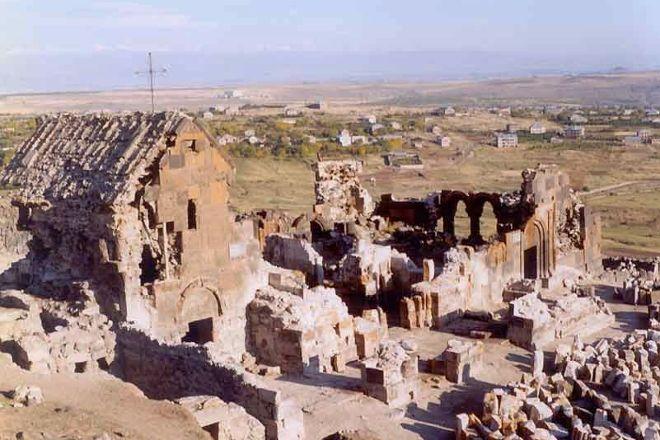 Saint Sarkis Monastery of Ushi, Ashtarak, Armenia