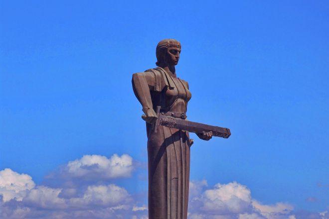 Victory Park and Statue of Mother Armenia, Yerevan, Armenia
