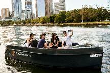 ON A BOAT, Melbourne, Australia