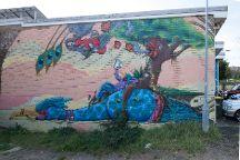 Street Art Walk - by Street Art Murals Australia, Katoomba, Australia