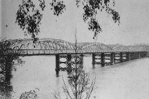 Victoria Bridge Abutment, Brisbane, Australia