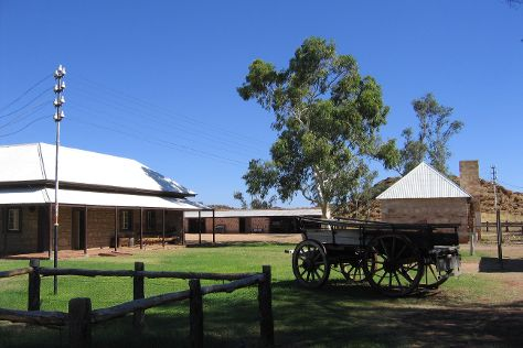 Alice Springs Telegraph Station Historical Reserve, Alice Springs, Australia