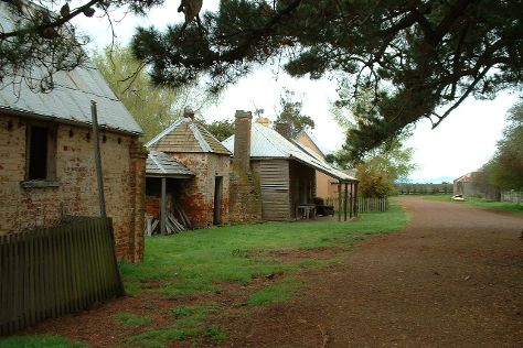 Brickendon Colonial Farm Village, Longford, Australia