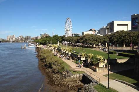 South Bank Parklands, Brisbane, Australia