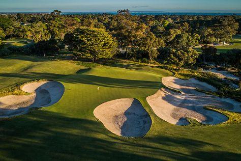 Victoria Golf Club, Cheltenham, Australia