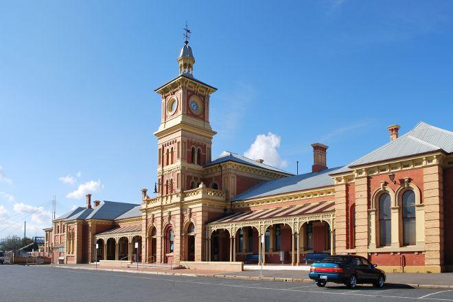 Albury Railway Station, Albury, Australia