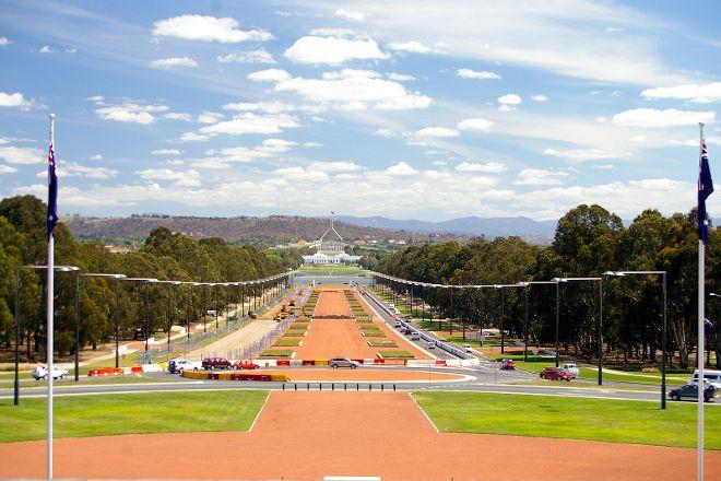 ANZAC Parade Walk, Canberra, Australia