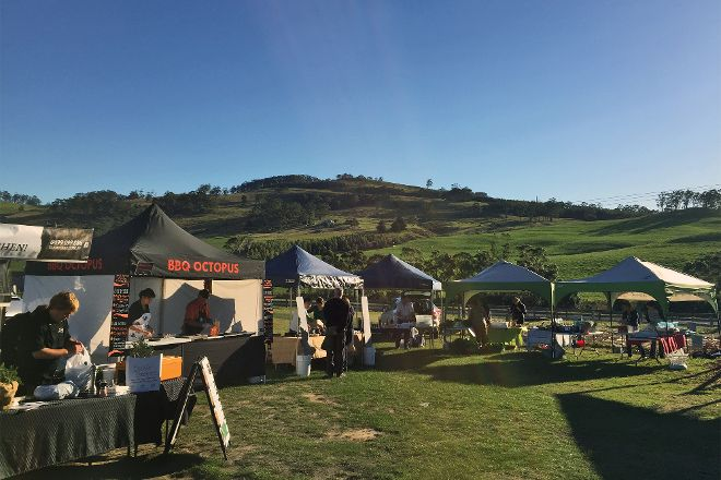 Bream Creek Farmers Market, Copping, Australia