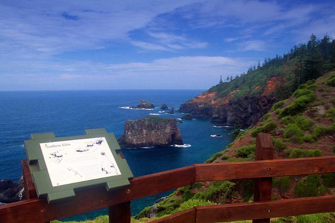 Captain Cook's Monument, Norfolk Island, Australia
